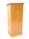 Full Pedestal Lectern lectern, podium, pulpit, speaker stand