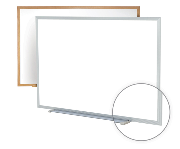 Markerboard - Wood Framed Non-Magnetic   Ghent, Whiteboard, Markerboard
