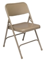 Metal Folding Chairs - 200 Series  Folding chair, metal folding chair, National PUblic Seating, NPS, series 200 folding chair