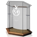 Foundation Pulpit - Clear Glass
