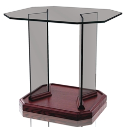 End Table - Clear Glass