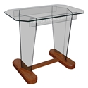 "Communion Table 48"" - Clear Glass"