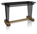 "Communion Table 40"" - Tinted Glass"