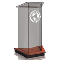 Lectern - Clear Glass