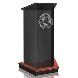 Lectern - Tinted Glass