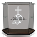 Pulpit - Clear Glass